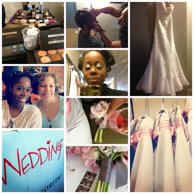 Amber Wedding Collage